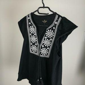 *NWOT* Katw Spade sleeveless top with pattern